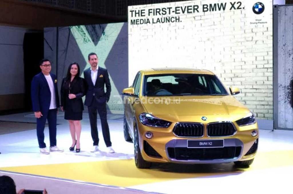 First-Ever BMW X2. Medcom.id/M. Bagus Rachmanto