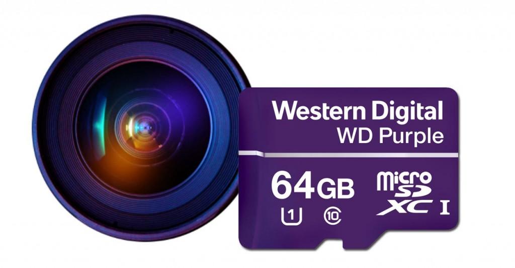 Western Digital Purple MicroSD Card.