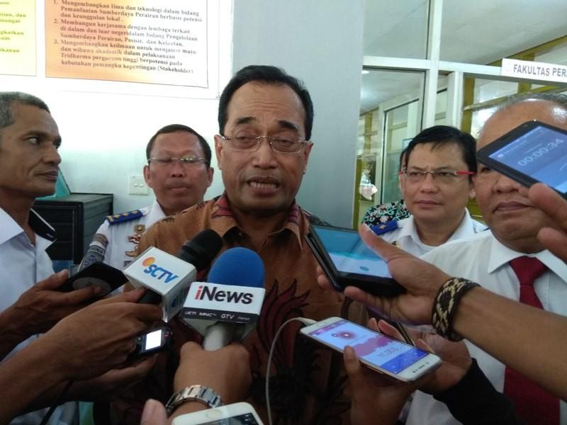 Menteri Perhubungan Budi Karya Sumadi. Medcom/Desi.