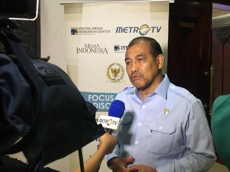 Wakil Ketua DPD Nono Sampono. Foto: Medcom.id/ Gervin Nathaniel Purba