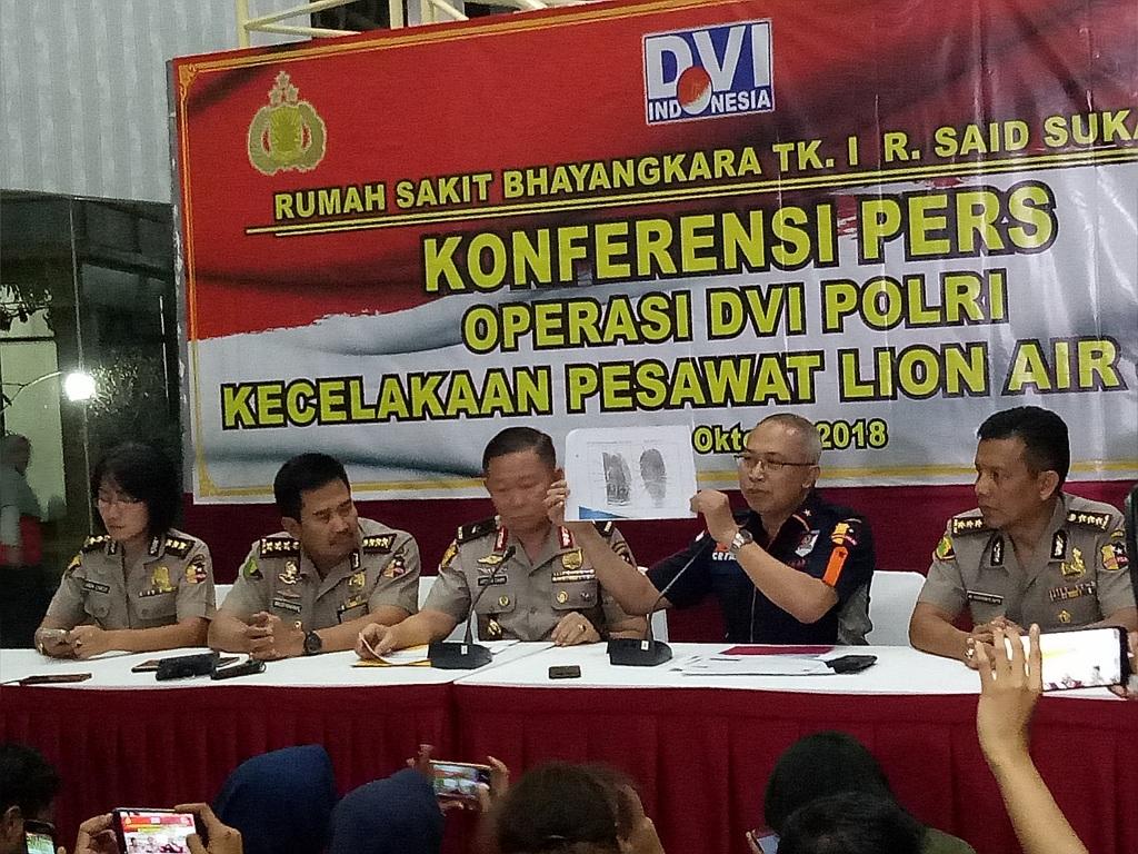 Konfrensi pers identifikasi jenazah Jannatun Cynthia Dewi - Medcom.id/Siti Yona Hukmana.