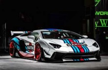 Lamborghini Aventador Gambot Khas Liberty Walk Nongol di SEMA