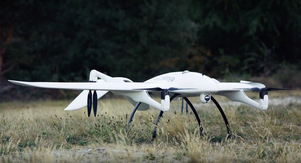 Wingcopter adalah salah satu perusahaan drone yang diajak bekerja sama.