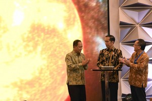 Jokowi Buka Indonesia Science Expo 2018