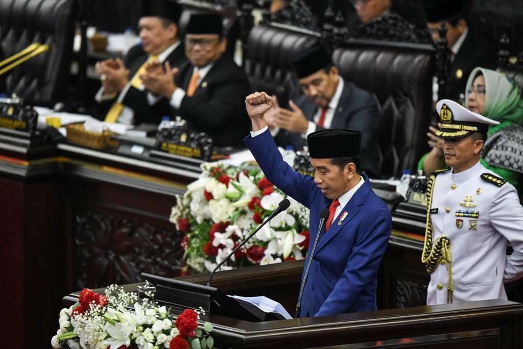 President Joko Widodo (Photo:Antara/Hafiz Mubarak)