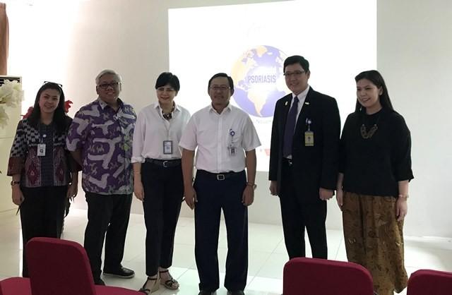 Acara peringatan World Psoriasis Day 2018, di RSCM Jakarta Pusat, Kamis, 1 November 2018. (Foto: Dok. Medcom.id/Raka Lestari)