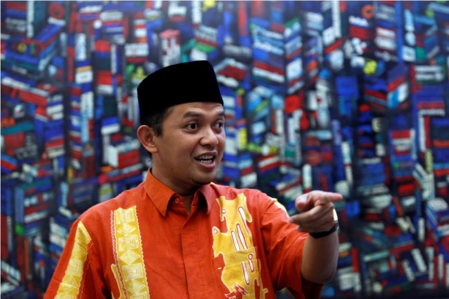 Direktur Relawan Tim Kampanye Nasional (TKN) Joko Widodo-Ma'ruf Amin Maman Imanulhaq--MI/Adam Dwi