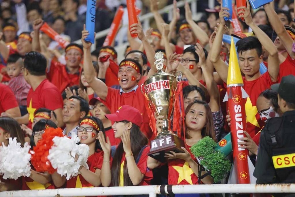 Suporter Vietnam (Foto: affsuzukicup.com)