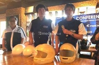Prime Gears Edukasi Produk Arai dan RS Taichi di IMOS