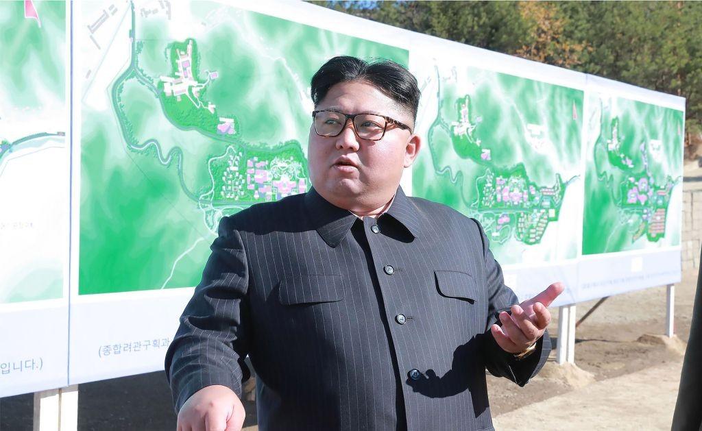Pemimpin Korea Utara Kim Jong-un. (Foto: AFP).