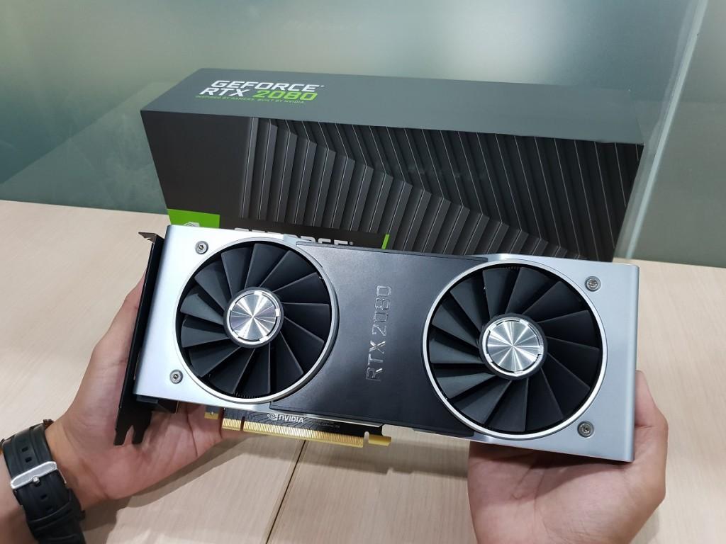 NVIDIA GeForce RTX 2080.
