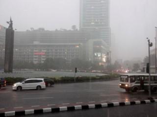Jakarta Diguyur Hujan Hari Ini