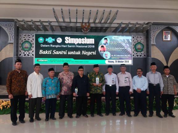 Universitas Islam Malang (Unisma) menggelar peringatan Hari Santri Nasional 2018, humas Unisma.