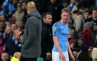 Guardiola Berharap De Bruyne tidak Alami Cedera Serius