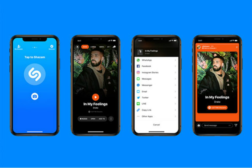 Shazam dan Instagram baru saja mengumumkan kerja sama baru untuk berbagi lagi di Stories.