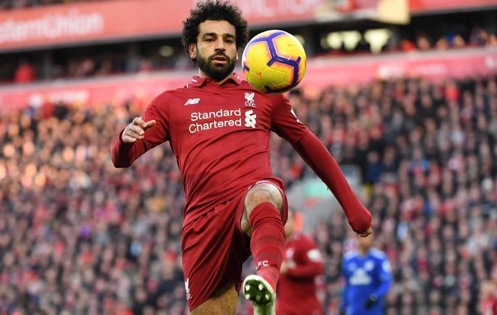 Mohamed Salah (Foto: AFP/Paul Ellis)