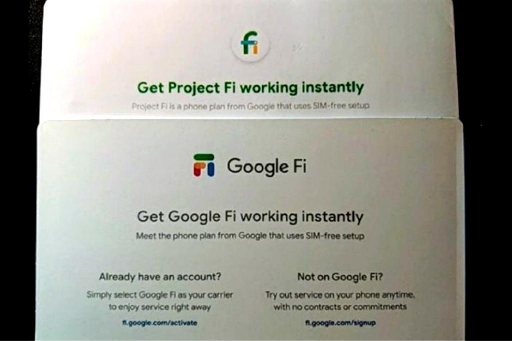 Bocoran informasi menyebut Project Fi akan berganti merek menjadi Google Fi.