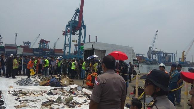 KNKT has started the investigation process of the Lion Air plane crash. (Photo:Medcom.id/Lukman Diah Sari)