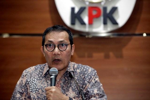 Wakil Ketua Komisi Pemberantasan Korupsi (KPK) Saut Situmorang. MI/Rommy Pujianto.