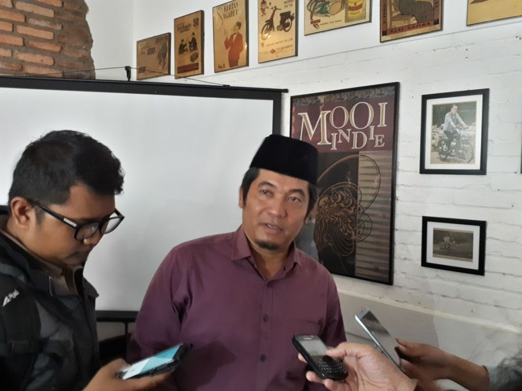 Direktur Eksekutif Lingkar Madani Indonesia Ray Rangkuti/Medcom.id/Faisal Abdalla