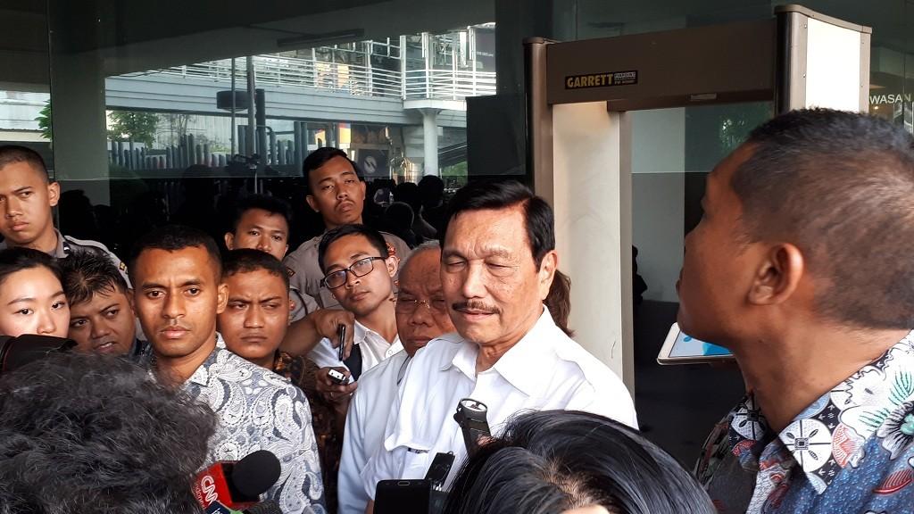 Menteri Koordinator Bidang Kemaritiman, Luhut Binsar Pandjaitan - Medcom.id/Faisal Abdalla