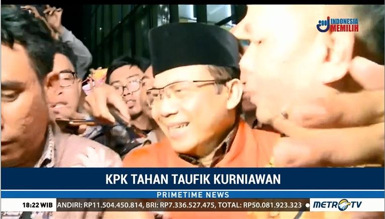 Wakil Ketua DPR RI Taufik Kurniawan ditahan - Metro TV