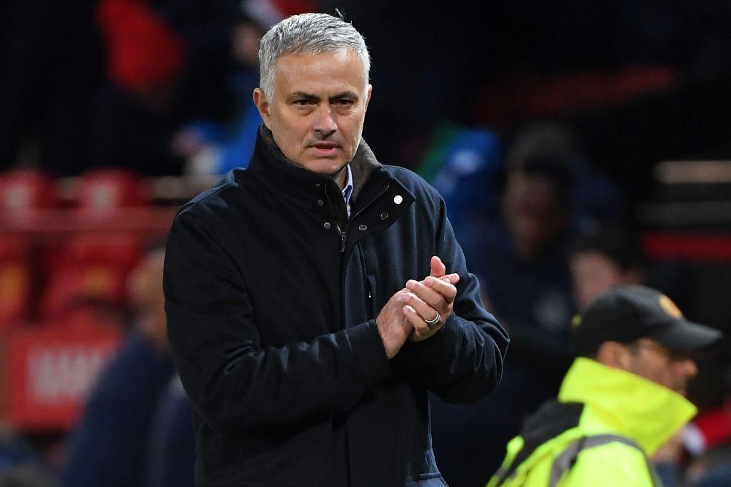 Jose Mourinho. (Paul ELLIS / AFP)