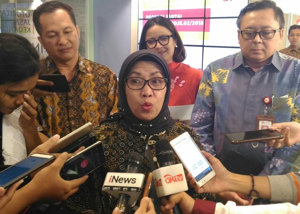Wakil Ketua Dewan Komisioner OJK Nurhaida. (FOTO: Medcom.id/Ilham Wibowo)