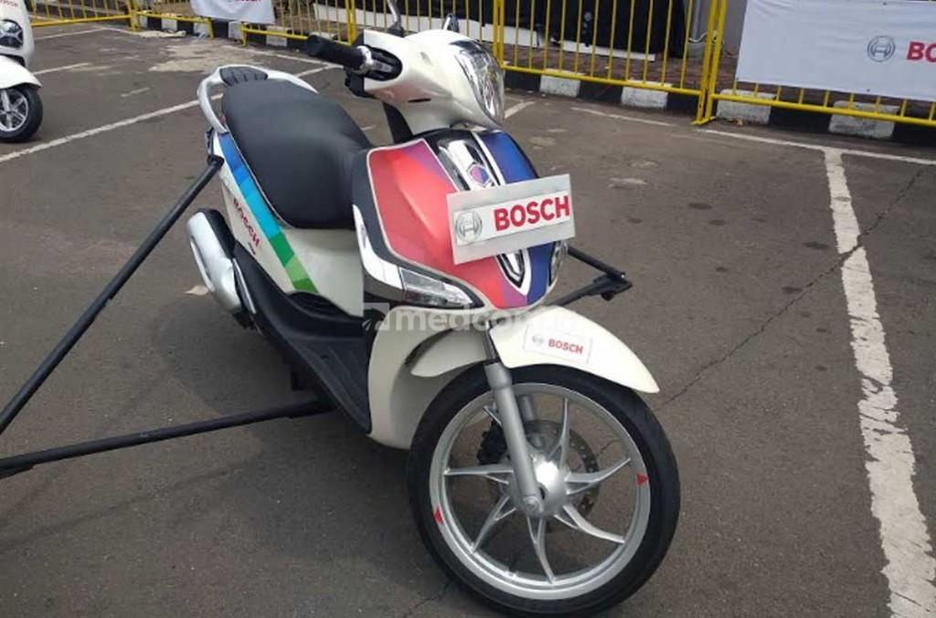 Bosch kembangkan ABS untuk motor listrik. Medcom.id/M. Bagus Rachmanto
