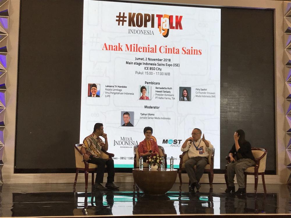 Indonesia Science Expo 2018 (Foto: Medcom/Raka)