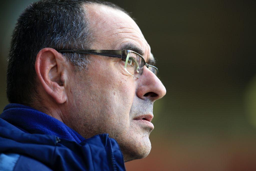 Bos Chelsea, Maurizio Sarri (AFP/Lindsey Parnaby)