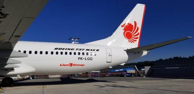 Lion Air JT610 jenis 737 Max-8. (FOTO: dok Lion Air)