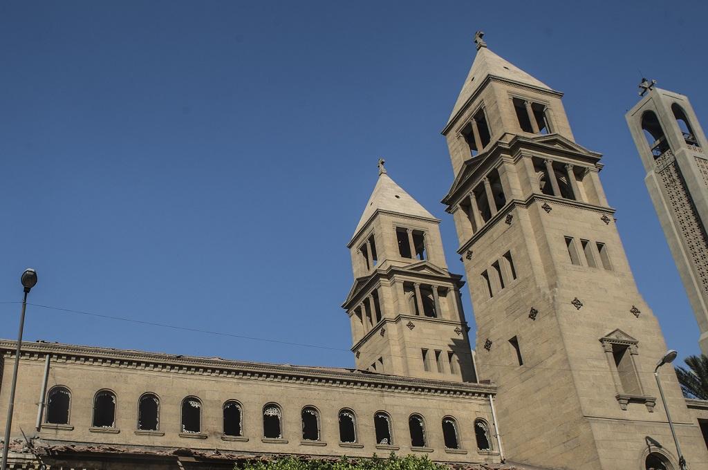 Sebuah gereja Kristen Koptik di Kairo, Mesir. (Foto: AFP)