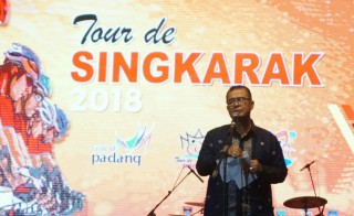 Tour de Singkarak Ampuh Mengangkat Pamor Sumatera Barat