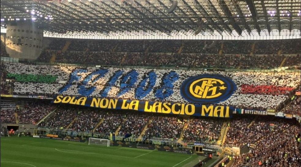 Suporter Inter Milan menikmati permainan tim favorit mereka saat  ini (Foto: Inter Milan)