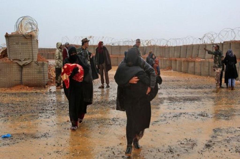 Kondisi di kamp terpencil Rukban di Suriah. (Foto: AFP)
