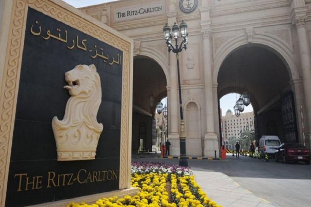 Ritz-Carlton di Riyadh menjadi salah satu tempat penahanan 200 pangeran Arab Saudi. (Foto: AFP/GETTY)