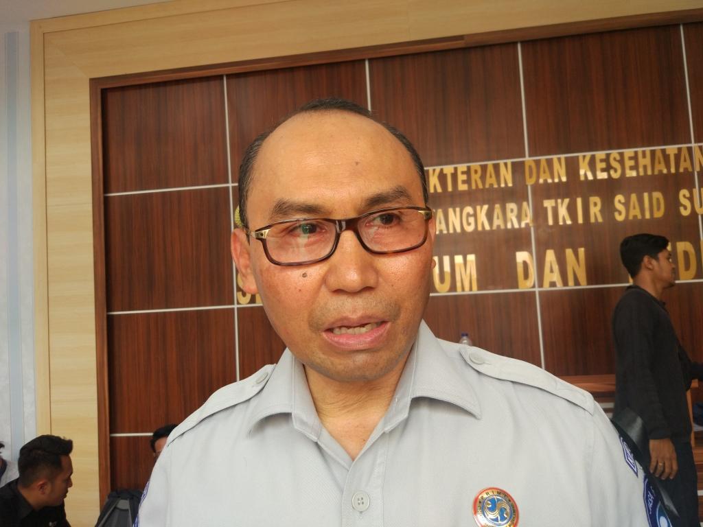 Direktur Manajemen Resiko dan Teknologi Informasi PT Jasa Raharja (Persero) Wahyu Wibowo. Foto: Medcom.id/Annisa Ayu Artanti.