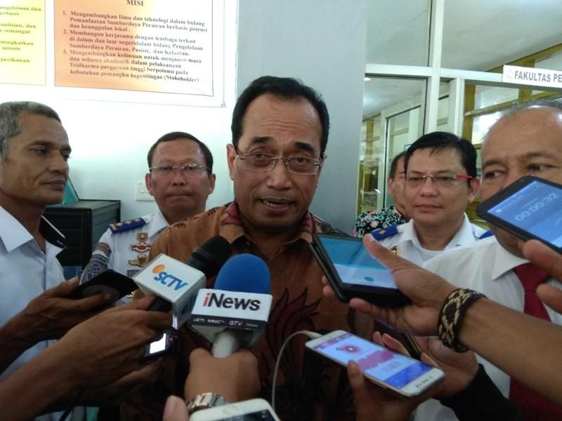 Menteri Perhubungan Budi Karya Sumadi. Medcom/Desi A.