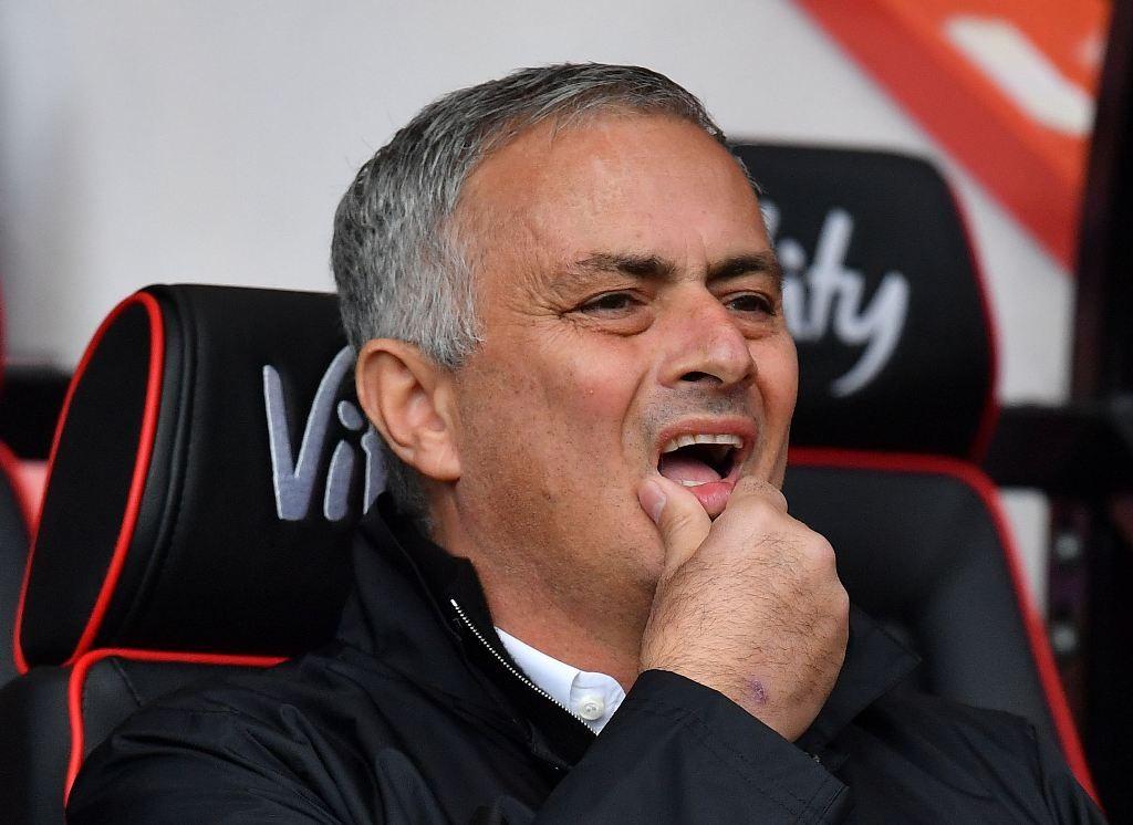 Pelaith Manchester United, Jose Mourinho (AFP/Ben Stansall)