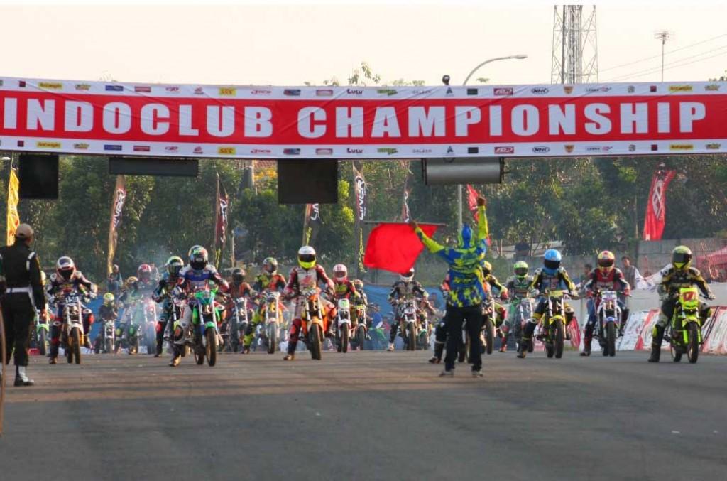 Indoclub Championship masih andalkan kelas motor 2-tak yang ramai peminat. Rafael Gasrem