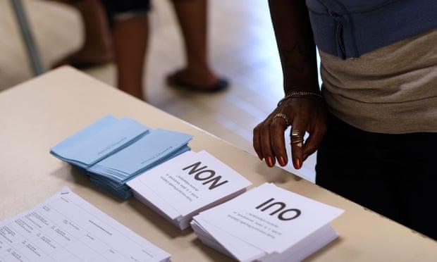 Referendum di Kaledonia Baru menghasilkan negara tersebut tetap bersama Prancis. (Foto: AFP)