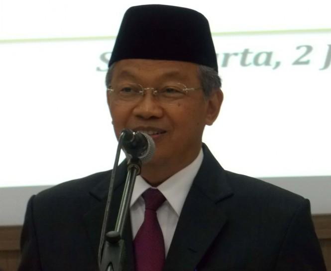 Rektor Universitas Sebelas Maret (UNS), Ravik Karsidi, MI/Ferdinand.