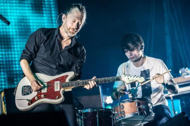 Thom Yorke dan Jonny Greenwood (Foto: NME)