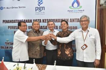 PGN, Jasa Tirta II, dan MOS Kembangkan Kawasan Industri Purwakarta