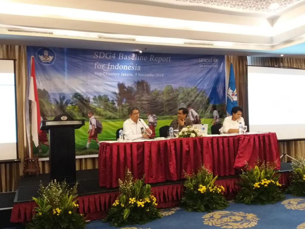 Seminar SDG4 Baseline Report for Indonesia, Medcom.id/Citra Larasati.