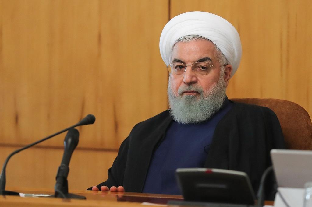 Presiden Iran Hassan Rouhani di Teheran, 24 Oktober 2018. (Foto: AFP/IRANIAN PRESIDENCY)