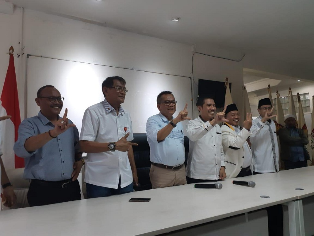 Gerindra Party and PKS has established a politicial alliance since the 2014 presidential election.  (Photo:Medcom.id/Nur Azizah)