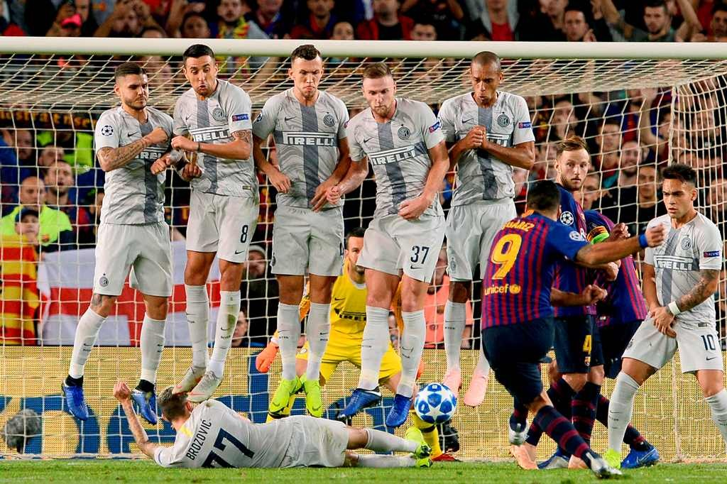 Barcelona vs Inter Milan (Foto AFP/JOSEP LAGO)