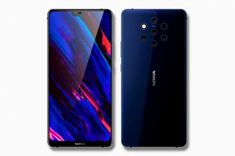 Nokia 9 PureView Usung Kode Olympic